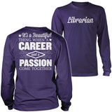Librarian - Beautiful Thing - District Long Sleeve / Purple / S - 11