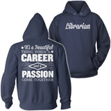 Librarian - Beautiful Thing - Hoodie / Navy / S - 13