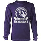 Librarian - Created Equal - District Long Sleeve / Purple / S - 11