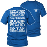 Librarian - Job Title - District Unisex Shirt / Royal Blue / S - 8