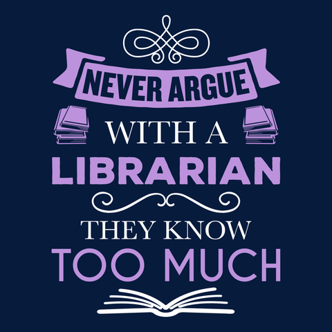 Librarian - Never Argue -  - 14