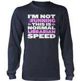 Librarian - Normal Speed - District Long Sleeve / Navy / S - 10