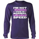 Librarian - Normal Speed - District Long Sleeve / Purple / S - 11