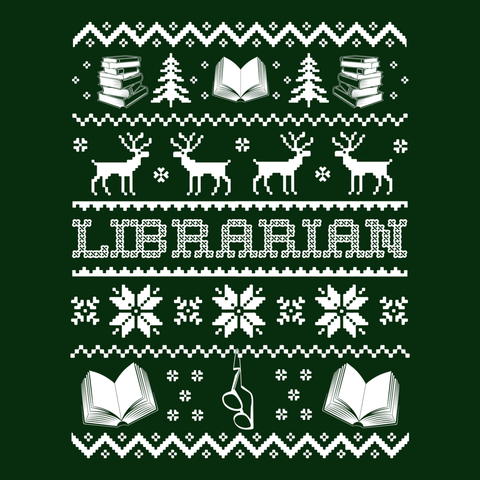 Librarian - Ugly Sweater -  - 9
