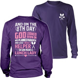 Lunch Lady - 8th Day - District Long Sleeve / Purple / S - 39