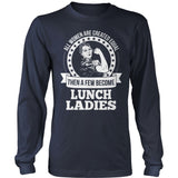 Lunch Lady - Created Equal - District Long Sleeve / Navy / S - 10