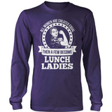 Lunch Lady - Created Equal - District Long Sleeve / Purple / S - 11