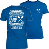 Lunch Lady - Forever - District Made Womens Shirt / Royal / S - 27