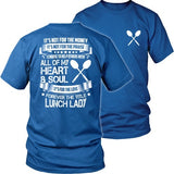 Lunch Lady - Forever - District Unisex Shirt / Royal Blue / S - 29