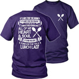 Lunch Lady - Forever - District Unisex Shirt / Purple / S - 30
