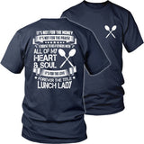 Lunch Lady - Forever - District Unisex Shirt / Navy / S - 31