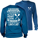 Lunch Lady - Forever - District Long Sleeve / Royal Blue / S - 33