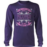Lunch Lady - I Don't Always - District Long Sleeve / Purple / S - 11