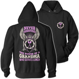 Lunch Lady - Never Underestimate - Hoodie / Black / S - 12