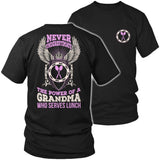 Lunch Lady - Never Underestimate - District Unisex Shirt / Black / S - 6