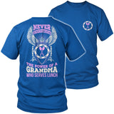 Lunch Lady - Never Underestimate - District Unisex Shirt / Royal Blue / S - 8