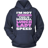 Lunch Lady - Normal Speed - Hoodie / Navy / S - 13