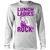 Lunch Lady - Rock - District Long Sleeve / White / S - 6