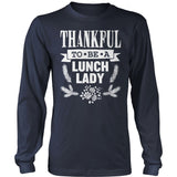 Lunch Lady - Thankful - District Long Sleeve / Navy / S - 11