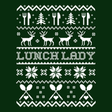 Lunch Lady - Ugly Sweater -  - 9
