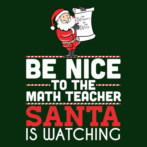 Math - Be Nice Holiday -  - 9