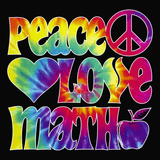 Math - Peace Love -  - 14