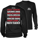 Math - Poem - District Long Sleeve / Black / S - 10
