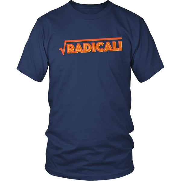 Math - Radical - District Unisex Shirt / Navy / S - 1