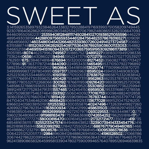Math - Sweet As Pi -  - 14