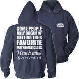 Math - Teach Mine - Hoodie / Navy / S - 13