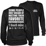 Math - Teach Mine - District Long Sleeve / Black / S - 9