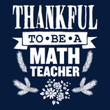 Math - Thankful -  - 14