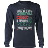 Music - Christmas Cheer - District Long Sleeve / Navy / S - 10