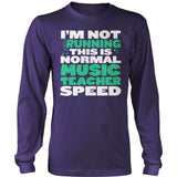 Music - Normal Speed - District Long Sleeve / Purple / S - 11