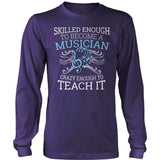 Music - Skilled Enough - District Long Sleeve / Purple / S - 11