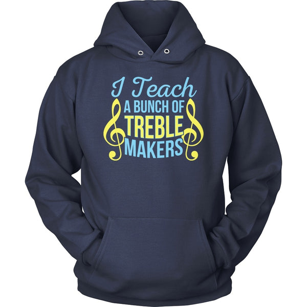 Music - Treble Makers - Hoodie / Navy / S - 1