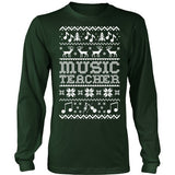 Music - Ugly Sweater - District Long Sleeve / Dark Green / S - 1