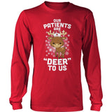 Nurse - Deer to Me - District Long Sleeve / Red / S - 2