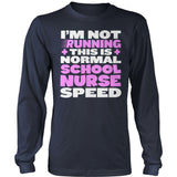 Nurse - Normal Speed - District Long Sleeve / Navy / S - 10