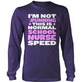 Nurse - Normal Speed - District Long Sleeve / Purple / S - 11