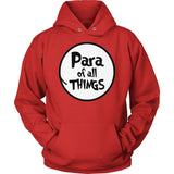 Para - Of All Things - Hoodie / Red / S - 12