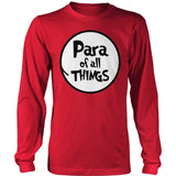 Para - Of All Things - District Long Sleeve / Red / S - 9