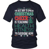 Phys Ed - Christmas Cheer - District Unisex Shirt / Navy / S - 2