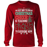 Phys Ed - Christmas Cheer - District Long Sleeve / Red / S - 5