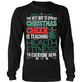 Phys Ed - Christmas Cheer - District Long Sleeve / Black / S - 7