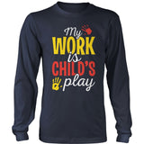 Preschool - Childs Play - District Long Sleeve / Navy / S - 10
