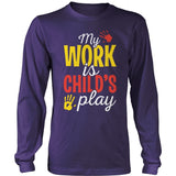 Preschool - Childs Play - District Long Sleeve / Purple / S - 11