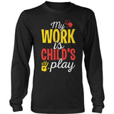 Preschool - Childs Play - District Long Sleeve / Black / S - 9