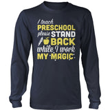 Preschool - Magic - District Long Sleeve / Navy / S - 10