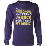 Preschool - Magic - District Long Sleeve / Purple / S - 11